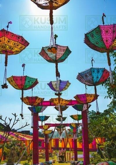 handmade umbrella manufacturer , wholesale handmade umbrellas , kusumhandicrafts umbrella
