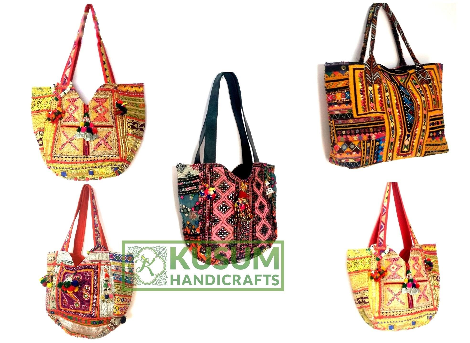 7199a1278421 Vintage Banjara Handbag Bohemian Banjara Bag Hippie Tribal Bag Tote ...