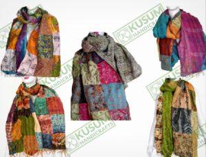 vintagekanthascarves-kusumhandicrafts-vintagekanthastoles-kantha-scarves-wholesale