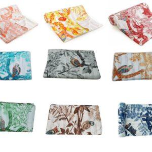 birdprintkanthaquilt-kusumhandicrafts