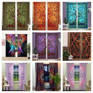 mandala curtains kusum handicrafts