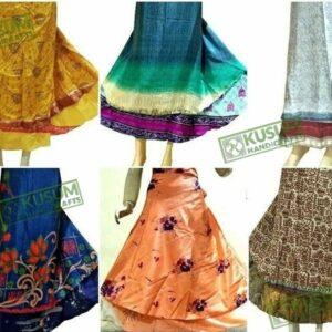 wholesale-silk-wrap-skirt-kusumhandicrafts-vintageskirt-manufacturer