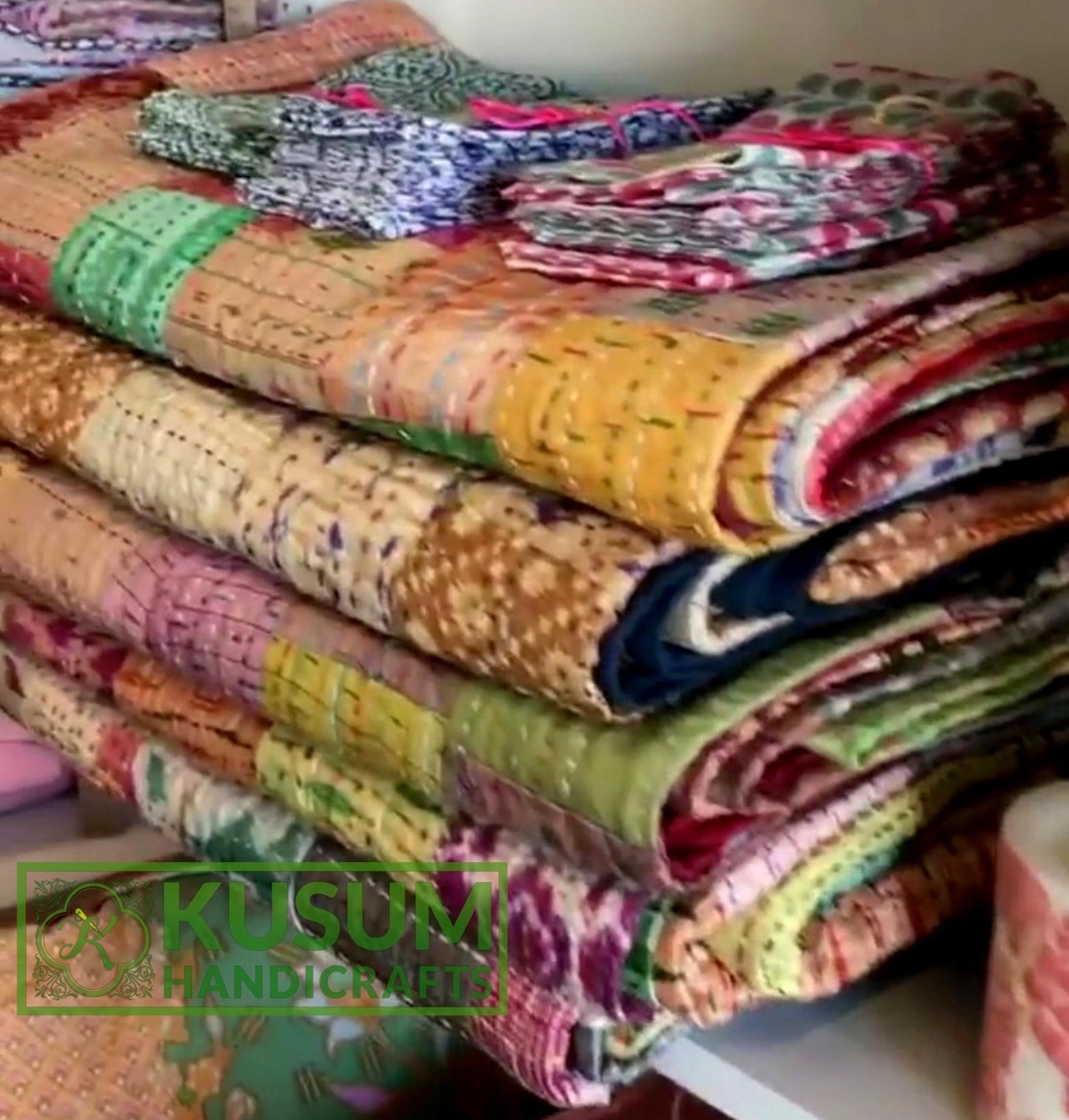 silkpatchworkquilt-kusumhandicrafts-kanthapatchworkpatolabedcover-kusumhandicrafts