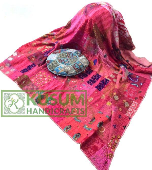 vintagesaripatchworkquilt-khushvin-kusumhandicrafts