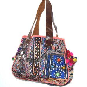 vintagebanjarabag-wholesaleleatherhandbag-kusumhandicrafts-khushvin- totebags