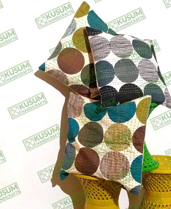 polkadotkanthapillow-khushvin-polka-dot-kantha-cushion-kusumhandicrafts