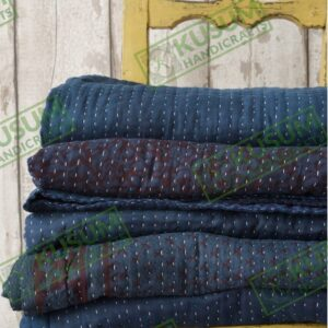 kusumhandicrafts-indigo-kantha-quilt-wholesale-khushvin