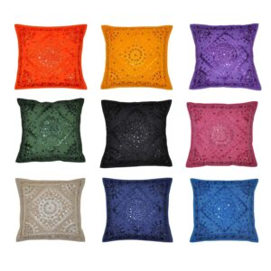 kusumhandicrafts-mirrorworkpillows-handmademirrorcushions
