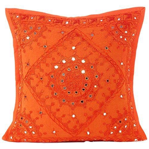 orangemirrorworkcushioncover-kusumhandicrafts