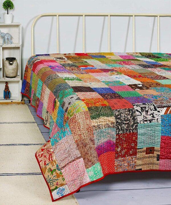 wholesale-patchwork-kantha-quilt-kusumhandicrafts