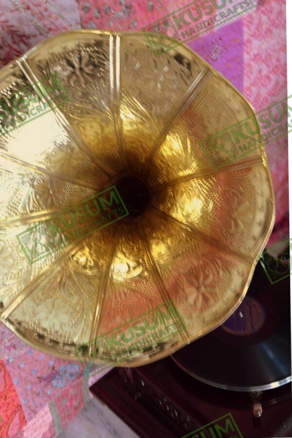 vintage-gramophone-antiquegramophone-kusumhandicrafts-gramophone-manufacturer