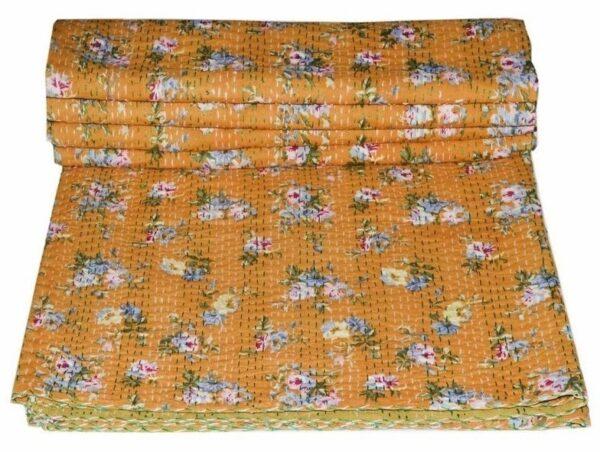 paradise-kantha-quilt-kusumhandicrafts-bedcover